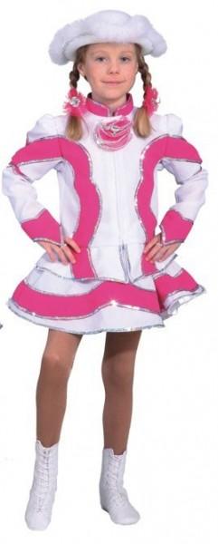Pinkes Funkenmarie Kostüm