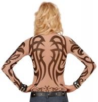 Exzessives Tattoo Damen Shirt
