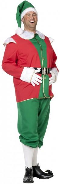Weihnachtself Michele Herrenkostüm