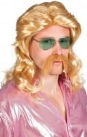 Perruque blonde Horst mulet avec barbe