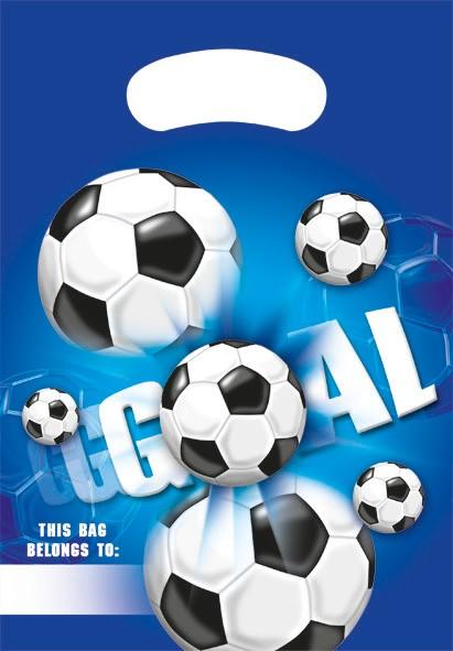6 Kick & Goal Geschenktüten
