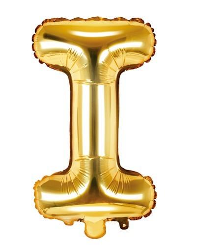 Globo foil I dorado 35cm
