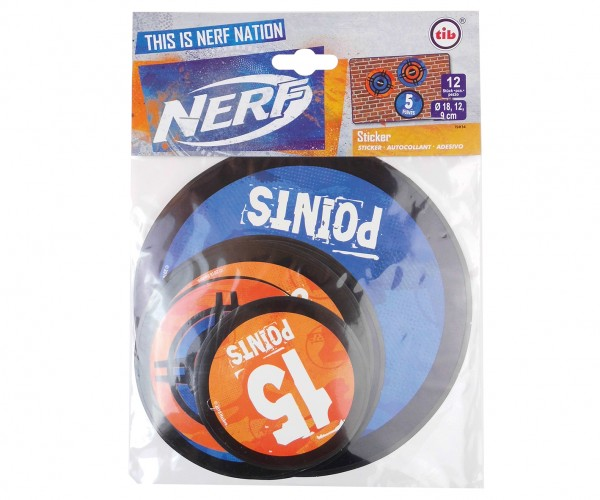 12 Nerf Battle Zone Sticker