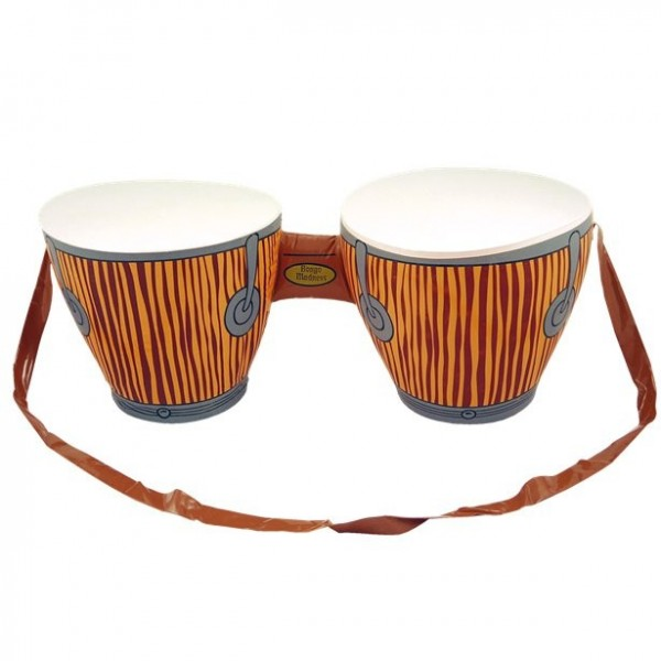 Inflatable bongo drums 62cm