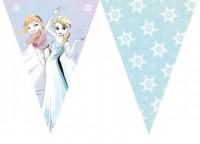 Sparkled Frozen Wimpelkette 2,3m