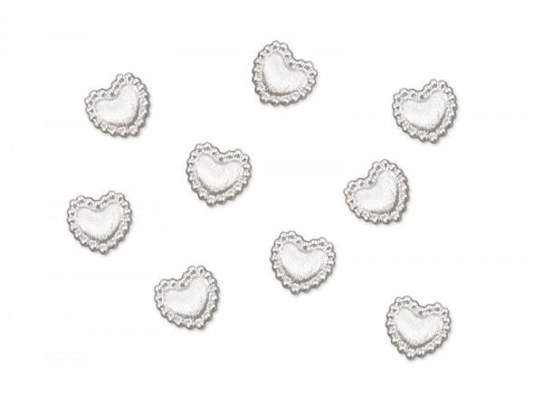 Konfetti Herzen mit Perlenrand Anny