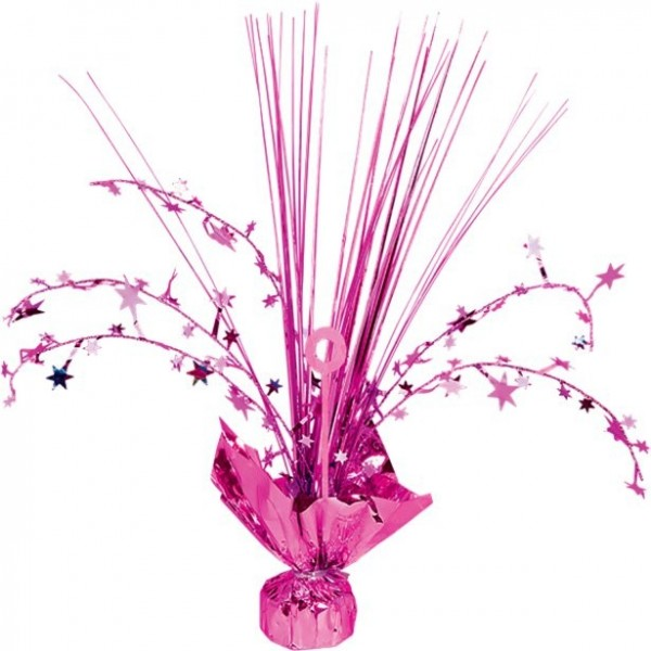 Pink stars table fountain 30cm