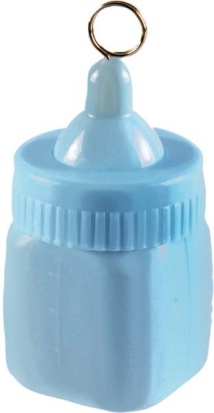 Biberon Peso del palloncino in blu pastello