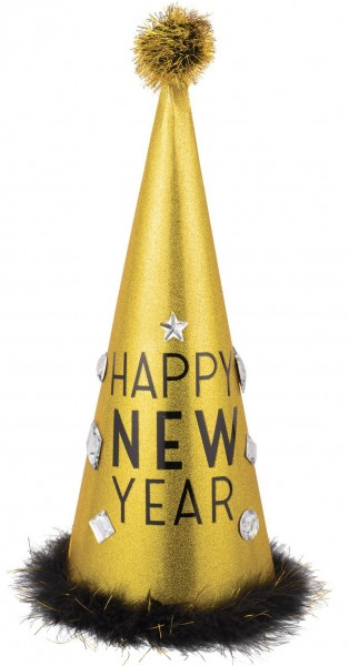Glamorous New Year party hat 45.7cm