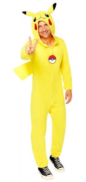 Pokemon Pikachu kostume til voksne