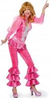 Tanzendes Party Damenkostüm Pink
