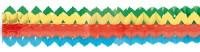 2 Shiny Rainbow Girlanden 2m