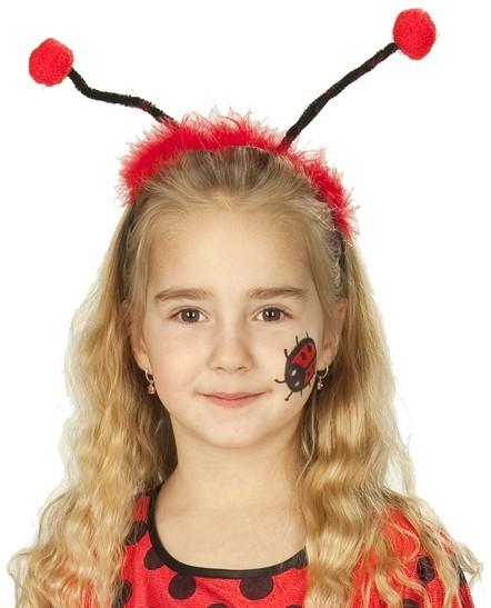 Haarreif Mit Marienkäferfühlern Für Kinder