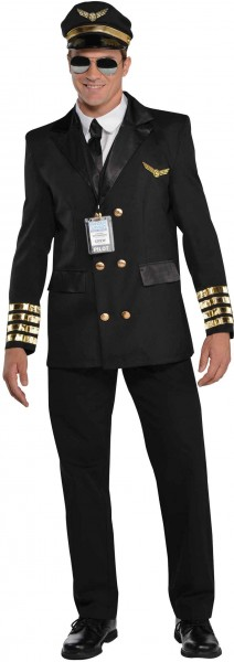 Costume de pilote Captain Holiday pour homme
