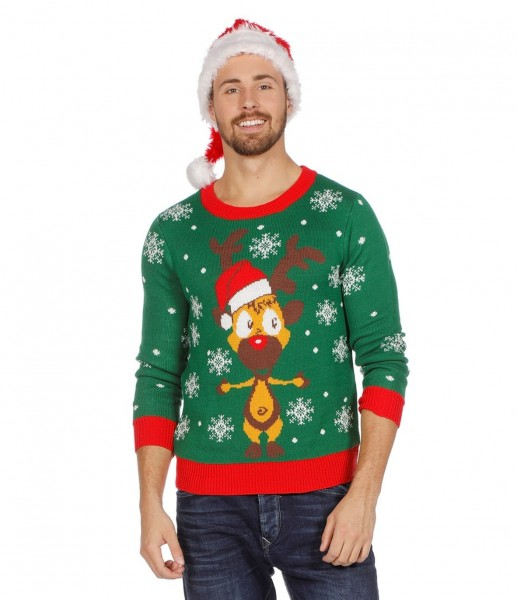 Jersey navideño Reindeer Rudolf
