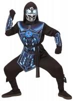 Cyber Ninja Sound und Licht Kinderkostüm