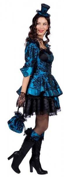 Blue baroque dress Aurelia