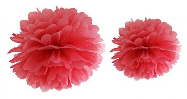 Pompon Romy rojo 25cm