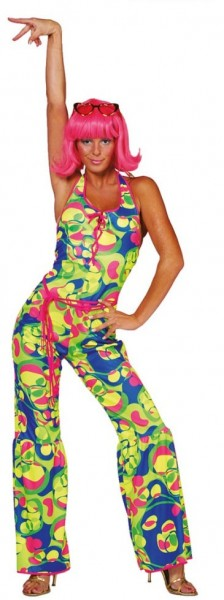 Neon Power Hippie Jumpsuit