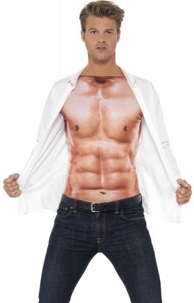 T-shirt optique musculaire Marius