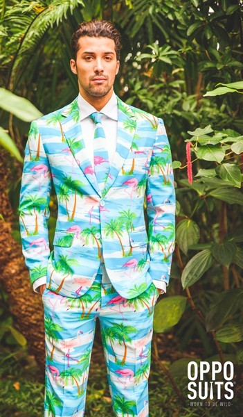 OppoSuits party suit Flaminguy