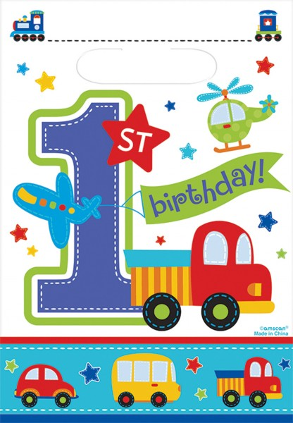 Caja regalo Sweet First BDAY niño 16,5x25cm