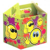 Smiley Geschenkbox 14cm