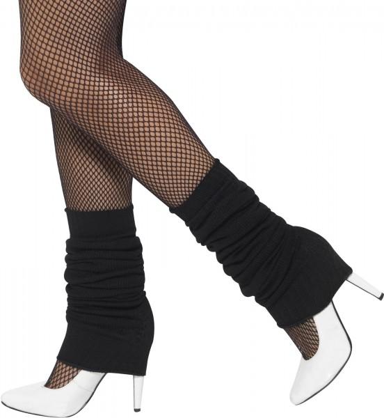 Schwarze Beinstulpen