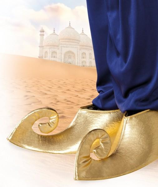 Goldene Arabische Schuhüberzieher