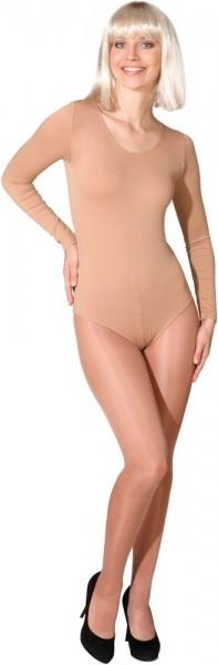 Body clásico para mujer tonos de piel