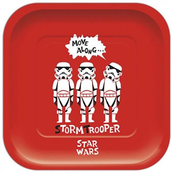 4 Star Wars Cartoon Pappteller 24cm