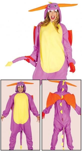 Manga Drache Overall Kostüm Unisex