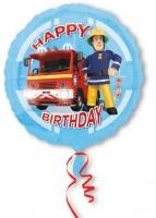 Geburtstagsballon Feuerwehrmann Sam