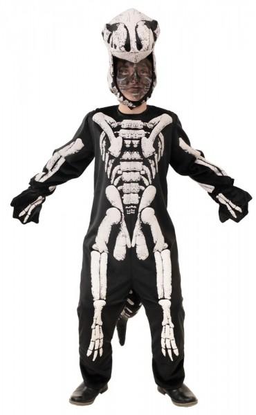 T-Rex skelet dino kinderkostuum