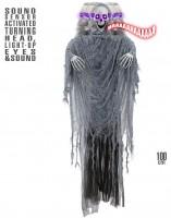 Erschreckendes Deko Skelett Sensenmann 100cm