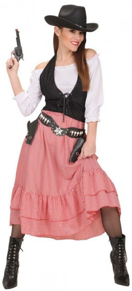 Carla Cowgirl ladies costume