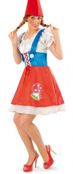 Damen Zwerg Kostüm 1