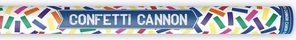 Bunte Karneval Konfetti Kanone 80cm