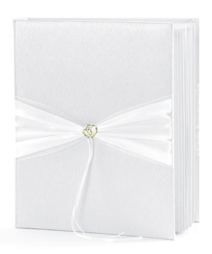 Gästebuch Doppelherz 20x23cm mit 45 Seiten 1