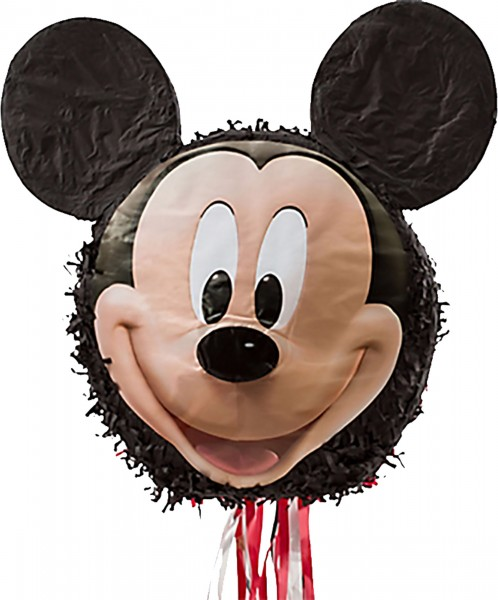 Train pinata heureux Mickey Mouse