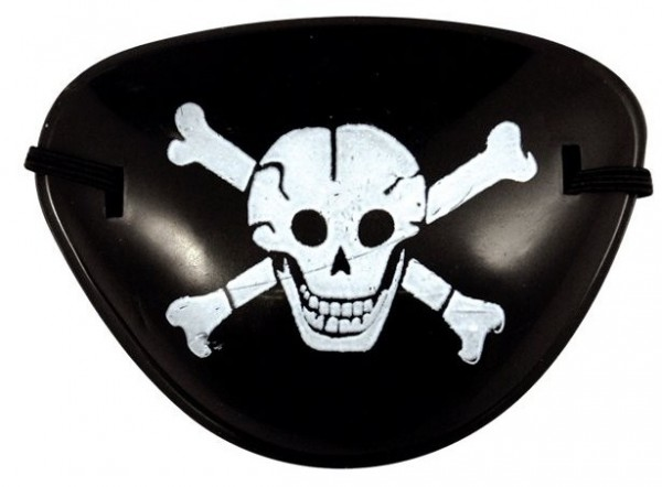 Captain Bone Pirate Eye Patch