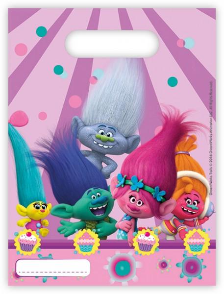 6 Party Trolls Geschenktüten