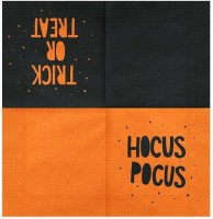 20 Hocus Pocus Servietten 16,5 x 16,5cm