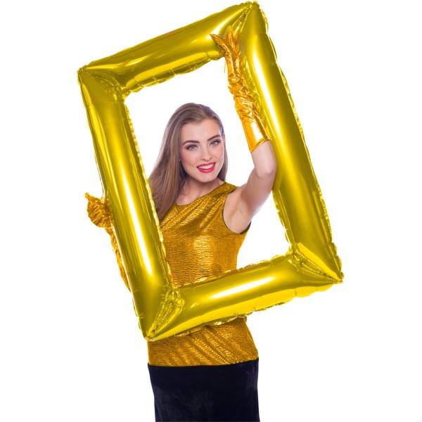 Gylden fotoramme 85 x 60 cm