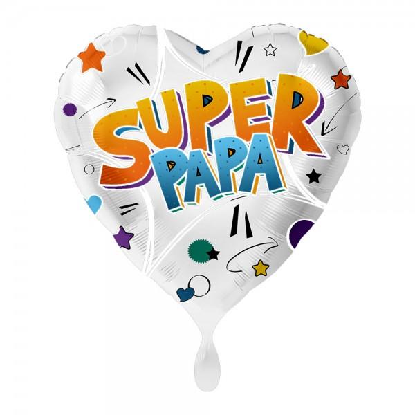 Super Papa hart folieballon 43cm