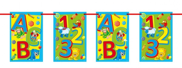 School start ABC pennant chain 10m
