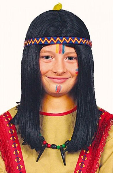 Indianer Jungen Perücke Winni