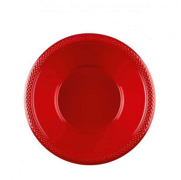 10 Party Buffet Schüsseln Rot 355ml