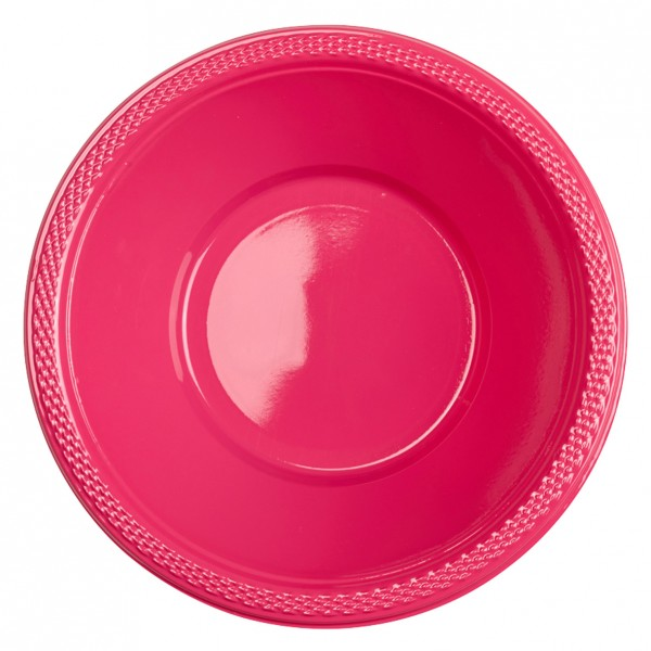 10 Party Buffet Bowls Magenta 355 ml