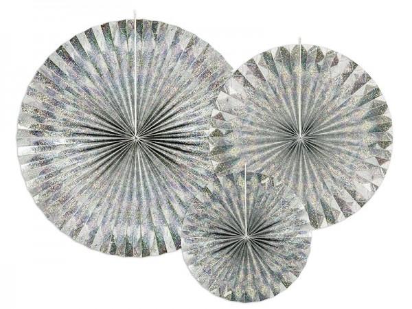 3 Holografische Rosetten Marielle
